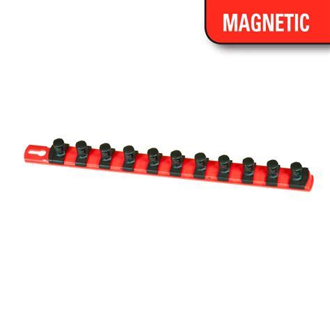 socket holder magnetic 13 magnetic socket organizer w twist lock