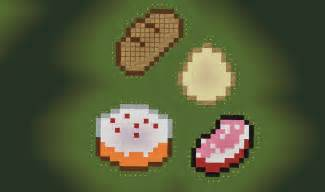 Small Planet Foods by Minecraft Food Pixel Art Related Keywords Amp Suggestions