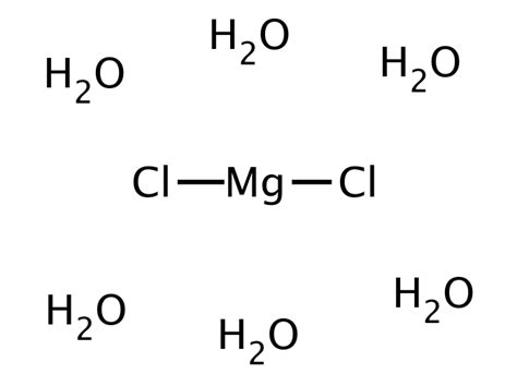 lewis diagram for mgcl2 magnesium chloride hexahydrate 7791 18 6 discovery