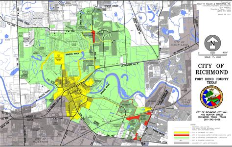 texas city limits map richmond city boundary map images