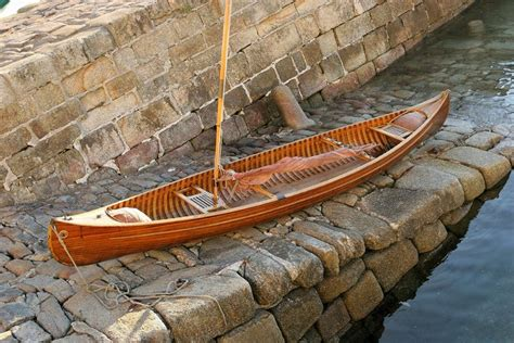 wooden boat canoe plans strip plank boat designs mng oma