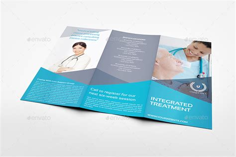 medical care tri fold brochure template by owpictures