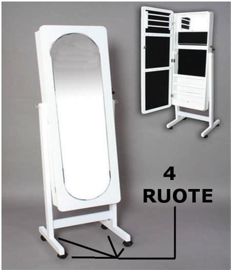 armadio portagioie armadio a specchio portagioie e gioielli parmaaffari