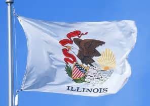 illinois state colors illinois state flag 2 x 3