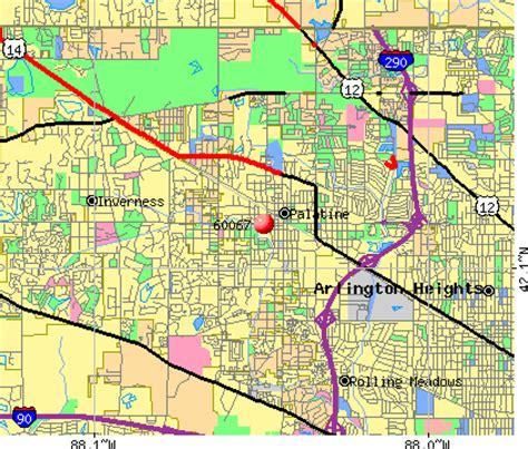 map of palatine illinois 60067 zip code palatine illinois profile homes