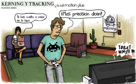 imagenes comicas movimiento kerning y tracking y la wii motion plus pixfans