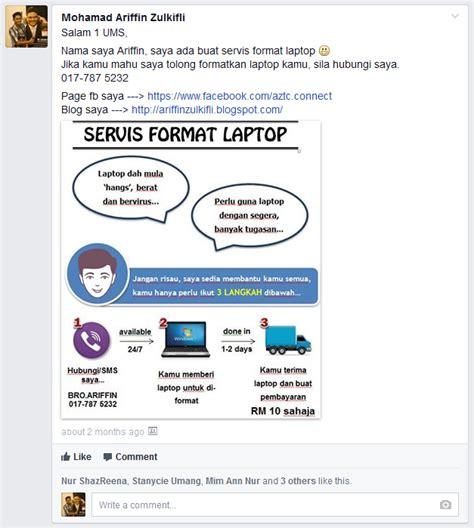 format apa laman web rahsia hasilkan post memukau di laman sosial infographic