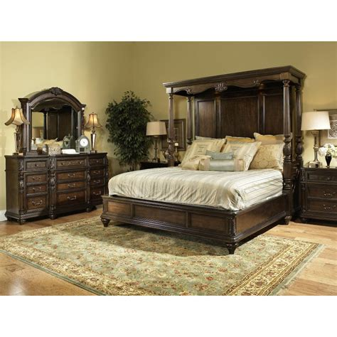 California King Bed Bedroom Sets by Chateau Marmont Fairmont 7 Cal King Bedroom Set