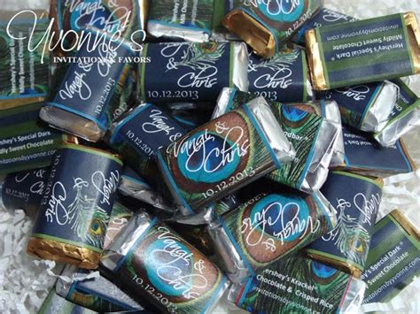 Bar Giveaways - majestic and grand peacock wedding favors and invitations yvonne s invitations and