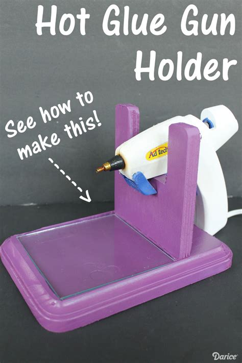 diy glue gun projects diy glue gun holder live craft