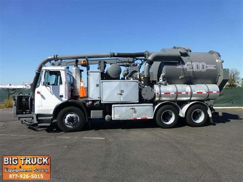 volvo vacuum 2003 volvo xpeditor wx vacuum tank truck for sale 94 350