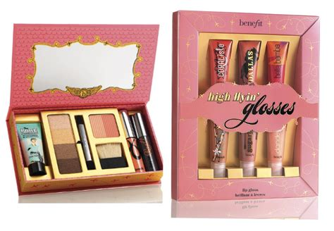 benefit cosmetics gift sets holiday makeup collection 2012
