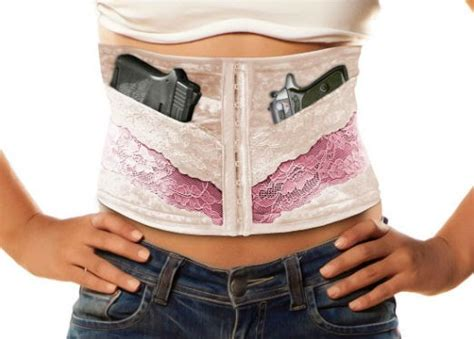 ccw concealed carry corset review best pistols guns for concealed carry self defense in