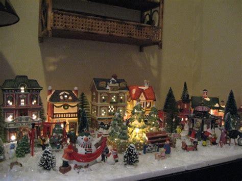 mini christmas village houses tiny christmas village southern hospitality