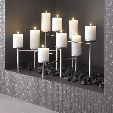 Fireplace Candelabrum by Pewter Fireplace Crate And Barrel