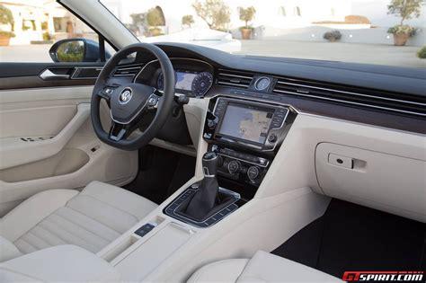 volkswagen passat 2015 interior 2015 volkswagen passat passat variant review gtspirit