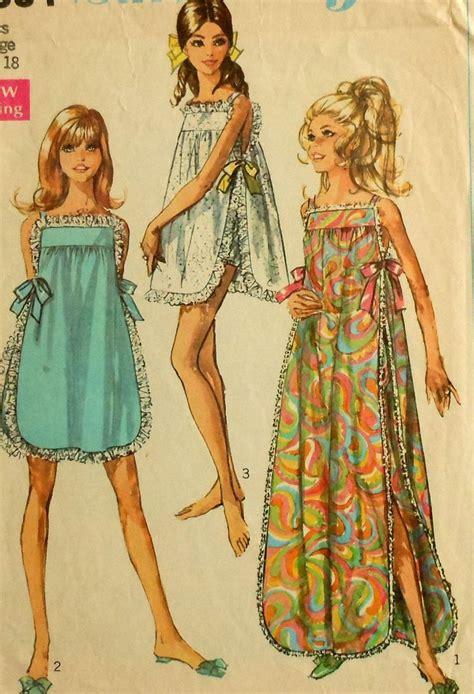 vintage nightwear pattern 41 best vintage style lingerie images on pinterest