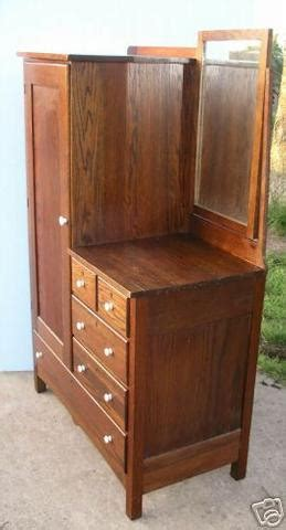 armoire dresser combo antique oak chifferobe dresser armoire combo w mirror