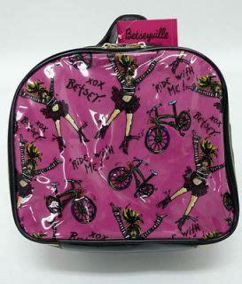Betseyville Betsey Johnsons Pop Rock Glitteratti Cosmetic Bag by Betseyville Pink Betsey Johnson Neon Lights Satchel Bag