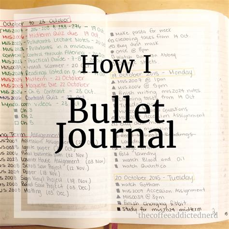 Addicted To Reading Journal the coffee addicted how i use my bullet journal
