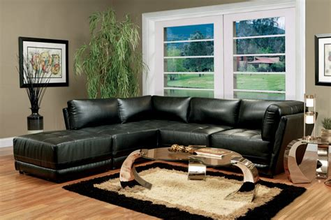 Living Room Decor With Black Leather Sofa Living Room Decor With Black Leather Sofa Curtain Menzilperde Net