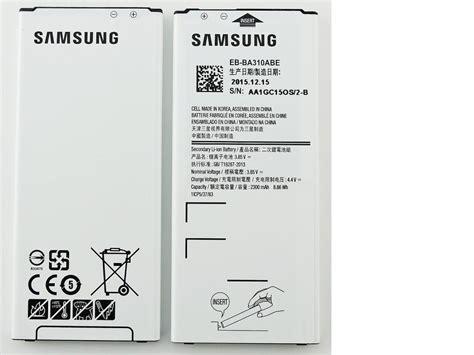 Baterai Samsung Galaxy A3 2016 Eb Ba310abe Original bateria eb ba310abe original para samsung sm a310f galaxy