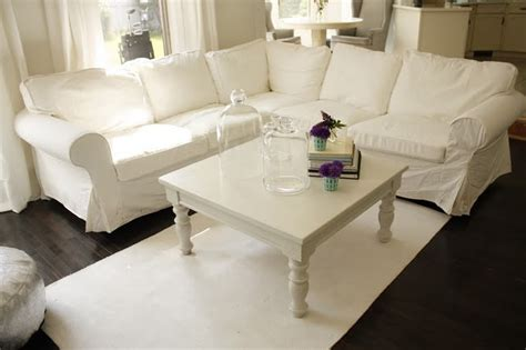 white slipcovered sectional ohlala white slipcovered sectional tm pinterest