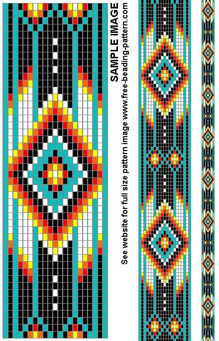 beading loom patterns free american belt bead pattern for american regalia crafts