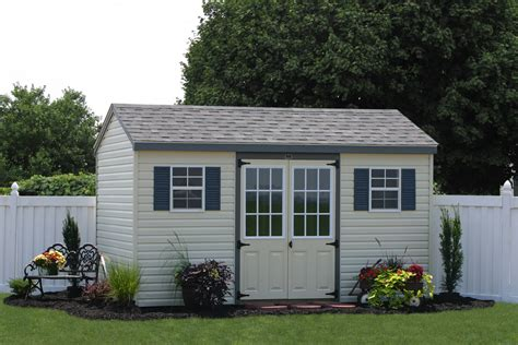 Large Wood Outdoor Sheds