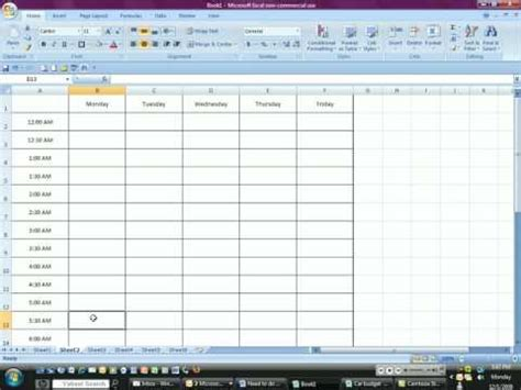 Time Management Excel Spreadsheet by Time Management With Excel