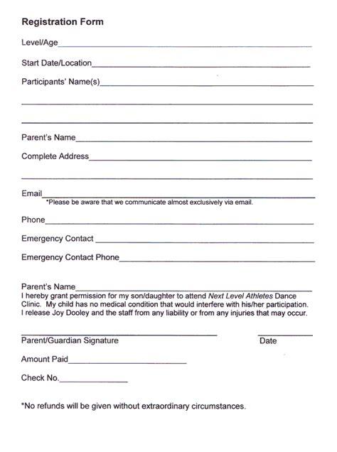 school registration form template free school registration form template free 15 read