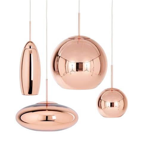 tom dixon pendant lights copper tall pendant l by tom dixon