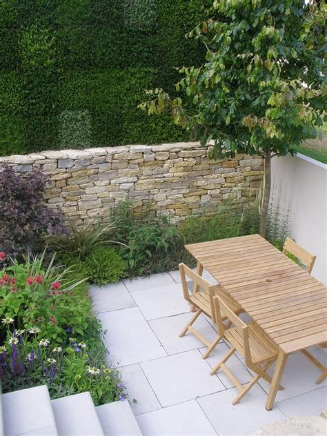 Terrasse Nebenanlage by Moderne G 228 Rten Steinwand And G 228 Rten On