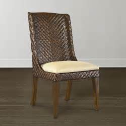 Custom Dining Room Chairs Woven Dining Chair Custom Dining Room Seating