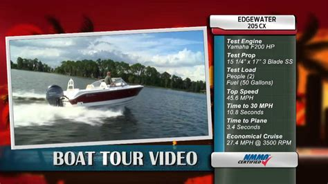 edgewater boats youtube edgewater power boats 205cx review youtube