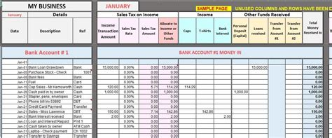 Free Excel Bookkeeping Templates How To Use Excel Templates