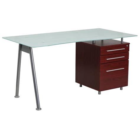 A Frame Computer Desk Llytech Inc Simplistic Espresso Computer Desk With A Frame 14054ex The Home Depot
