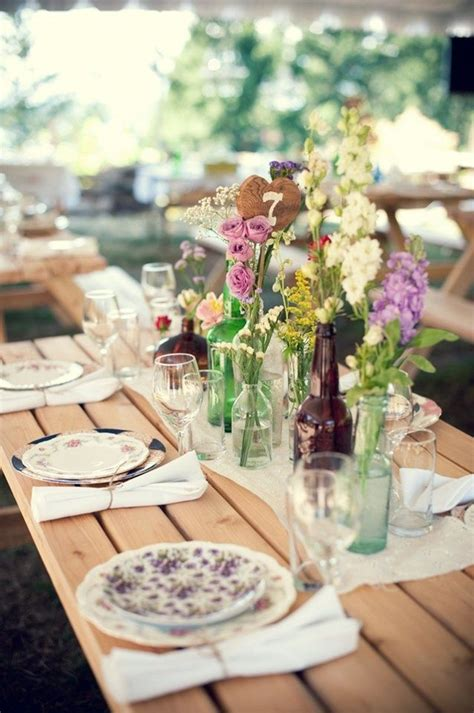 fabulous table settings 1000 ideas about rustic table settings on