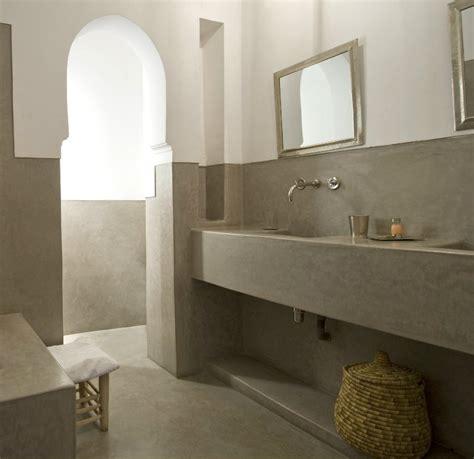Interior Design Bathroom polished moroccan tadelakt venetian interior plastering