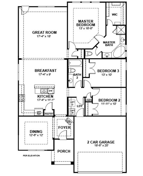 Beazer Floor Plans by 1429 Eagleton Lane Silverado Ii Home Plan In Canyon Falls
