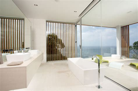 Modern Bathroom White Modern White Bathroom Interior Design Ideas