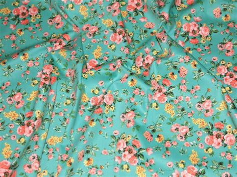 printable fabric uk floral print hendon stretch cotton twill dress fabric