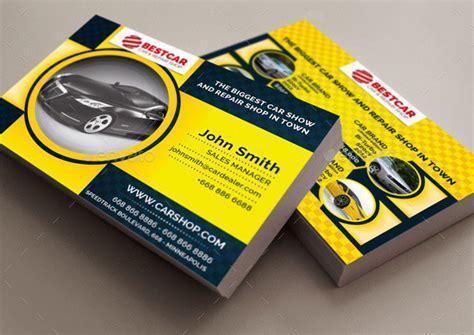 car service business card templates 20 best automotive business card design templates pixel
