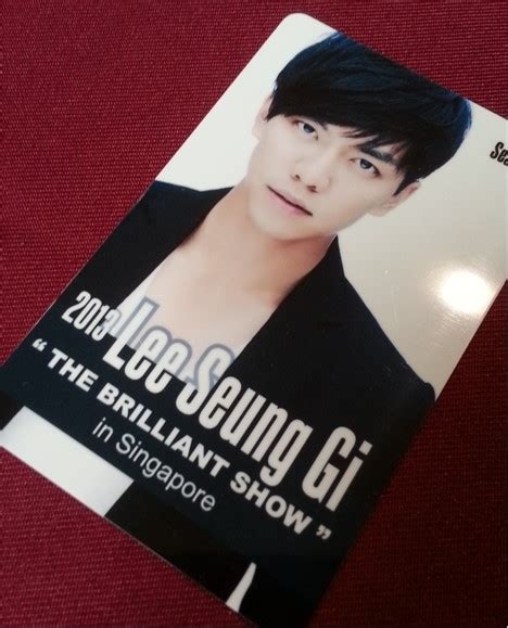 lee seung gi fan meeting 2019 lee seung gi the brilliant show in singapore x clusive