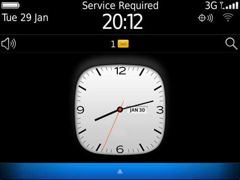 Themes Clock Blackberry | free blackberry10 clock theme beclock blackberry