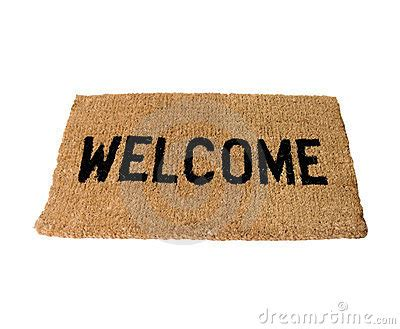 Black And White Welcome Mat Welcome Mat Clipart Clipart Suggest