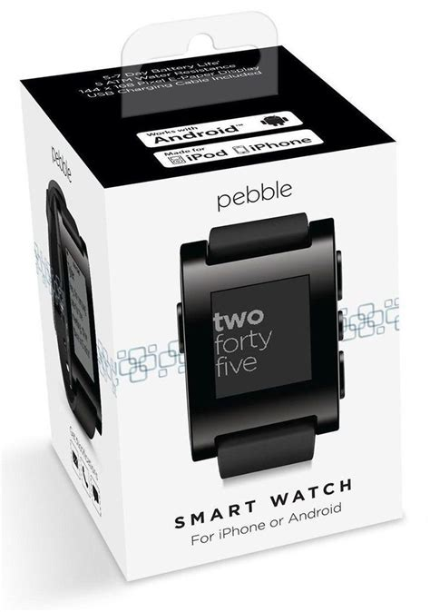 Pebble Classic 301 Black 13 best pebble steel images on android wear