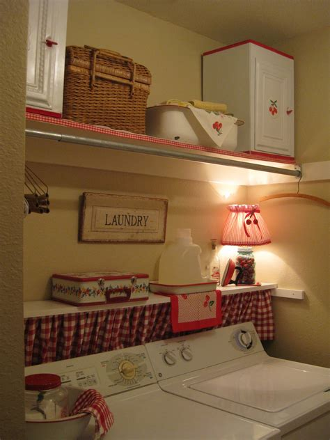 Laundry Room Curtain Ideas Ideas Brookhollow Laundry Room Fix Up