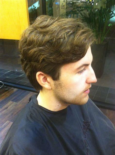 soft perms short boys cut 19 best mens perm images on pinterest curly hair hair