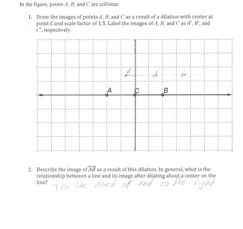 Dilations Worksheet Kuta by Dilation Worksheet Kuta Math Dilation Best Free